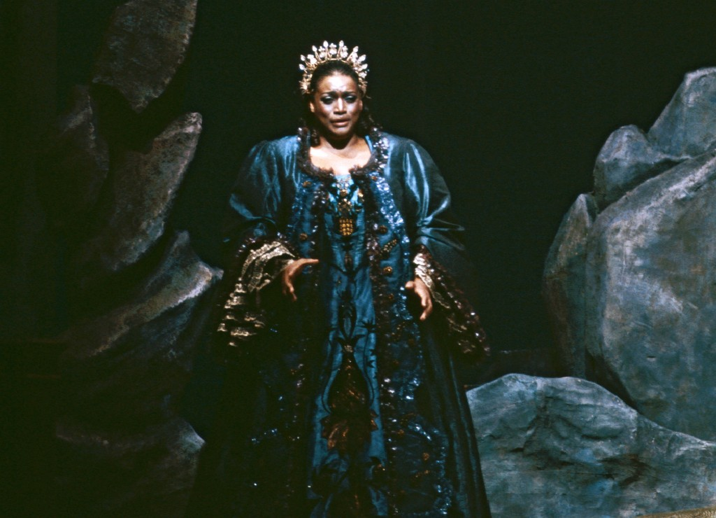 "This 1984 image released by the Metropolitan Opera shows Jessye Norman in the title role of Strauss' ""Ariadne auf Naxos,"" in New York. Norman died, Mo..."