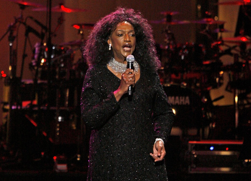 FILE - This Sept. 18, 2007 file photo shows soprano Jessye Norman performing during The Dream Concert at Radio City Music Hall in New York. Norman die...