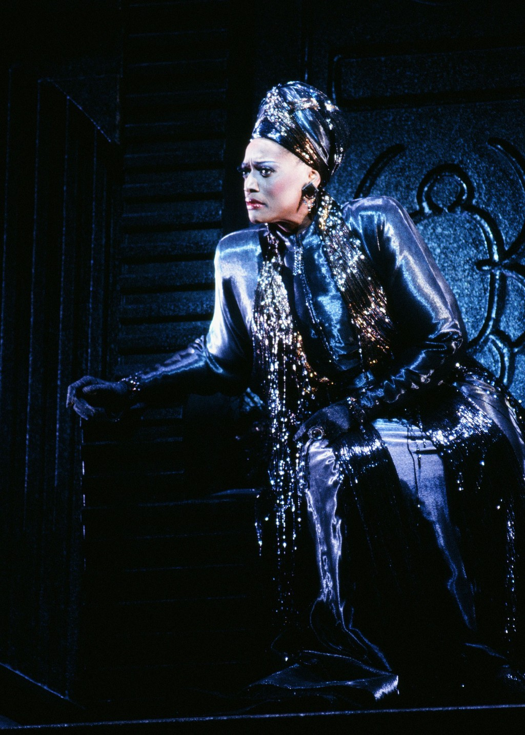 "This 1995-1996 image released by the Metropolitan Opera shows soprano Jessye Norman as Emilia Marty in Janáček's ""The Makropulos Case,"" in New York. N..."