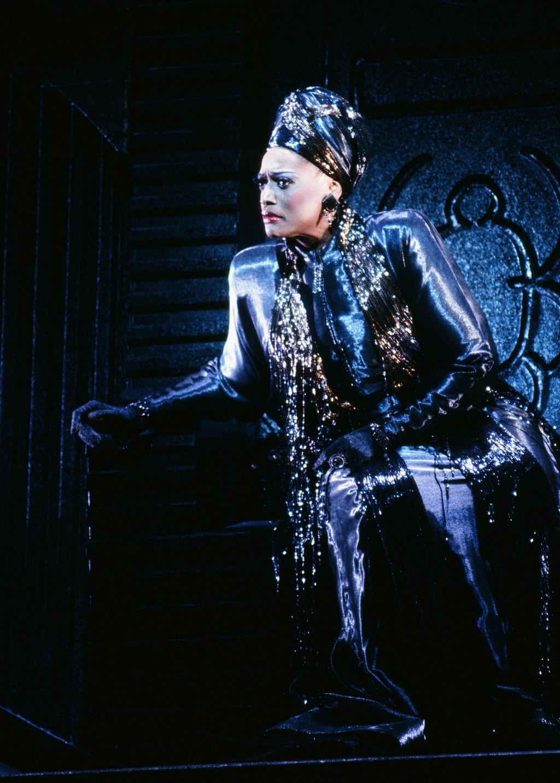 "This 1995-1996 image released by the Metropolitan Opera shows soprano Jessye Norman as Emilia Marty in Janáček's ""The Makropulos Case,"" in New York. N"