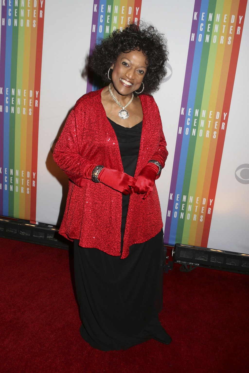 FILE - This Dec. 8, 2013 file photo shows Jessye Norman at the 2013 Kennedy Center Honors at the Kennedy Center for the Performing Arts in Washington.