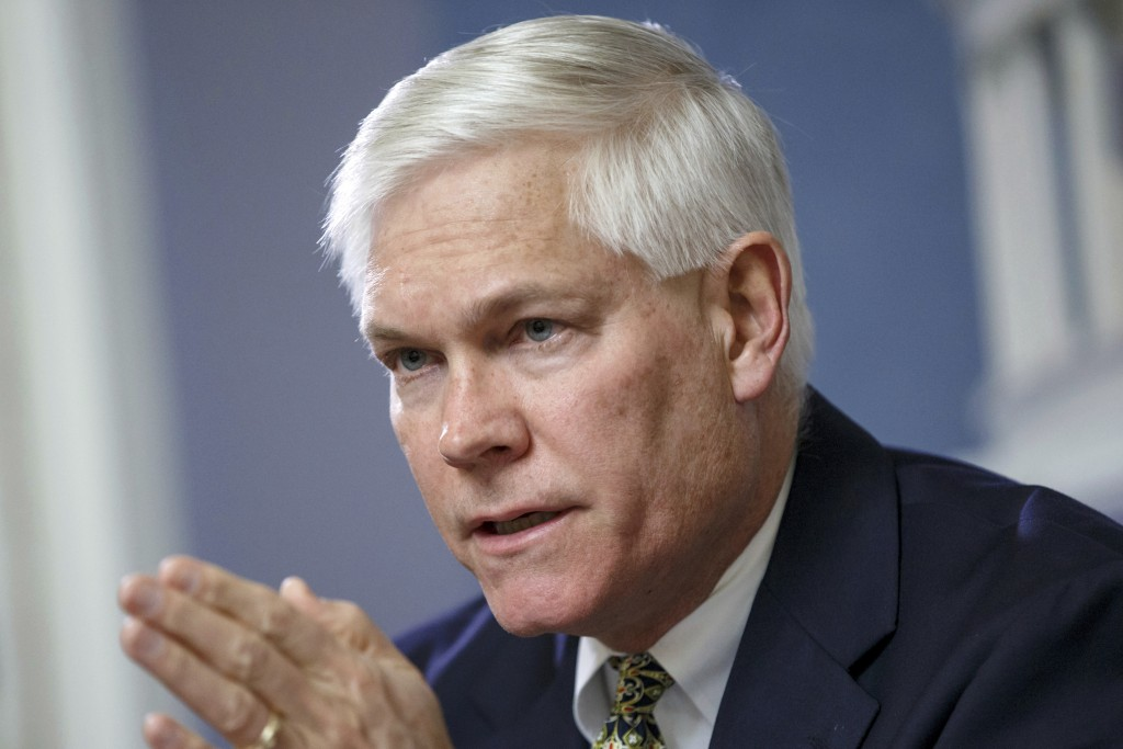 FILE - In this Feb. 2, 2015 file photo, U.S. Rep Pete Sessions, R-Texas, opens a meeting of the House Rules Committee at the Capitol in Washington. Fo...