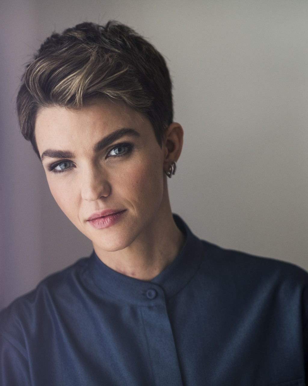 "This Sept. 30, 2019 photo shows actress Ruby Rose posing for a portrait in New York to promote her CW series ""Batwoman,"" premiering on Oct. 6. (Photo ..."