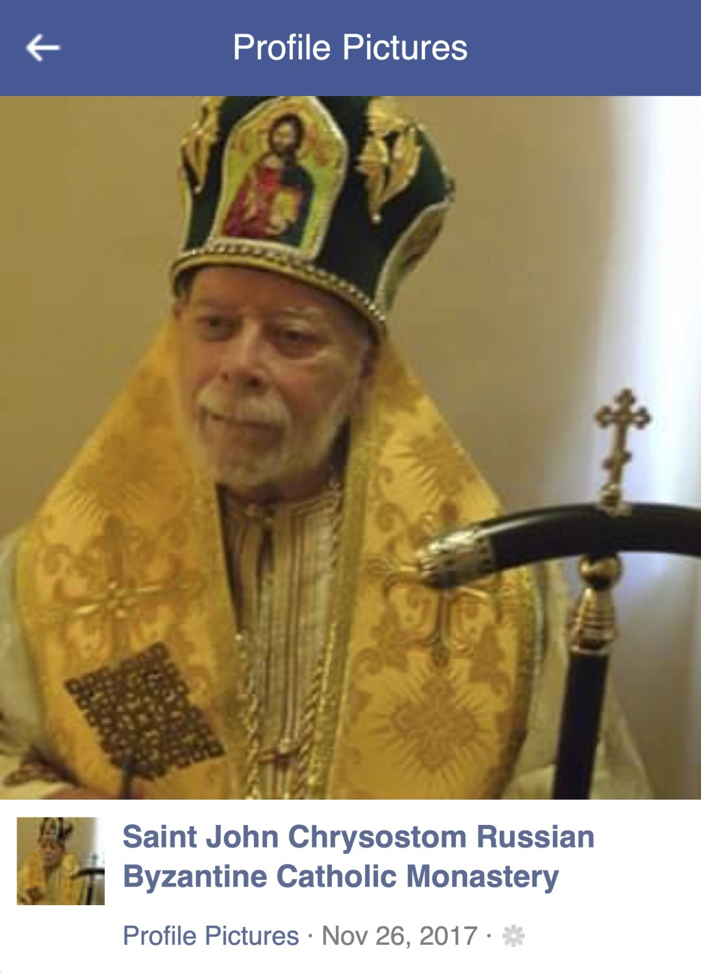 This undated photo posted to Facebook in 2017 shows Jerome Bernard Robben. Three decades earlier, Robben, a St. Louis Catholic high school teacher; an...
