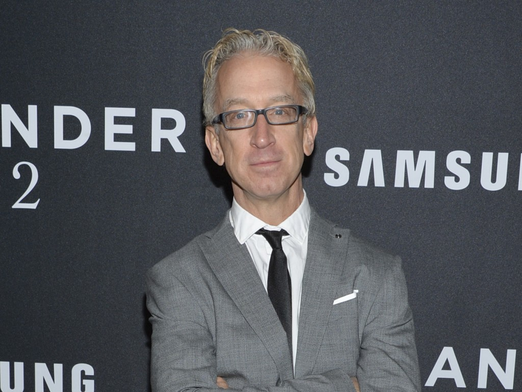 """FILE - This Feb. 9, 2016 file photo shows actor Andy Dick at the world premiere of """"Zoolander 2"""" in New York. Dick has been charged with groping a dri"""