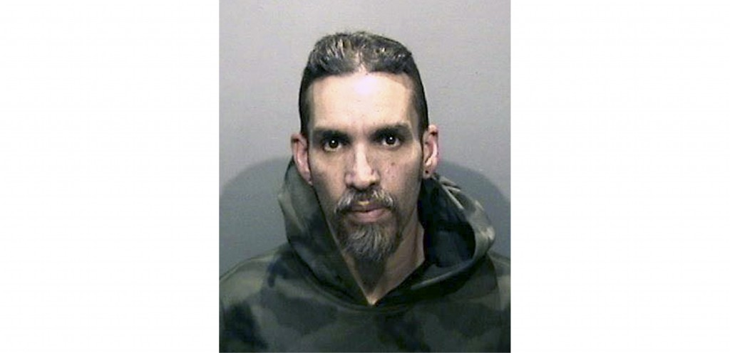 FILE - This Monday, June 5, 2017, file photo released by the Alameda County Sheriff's Office shows Derick Almena at Santa Rita Jail in Alameda County,...