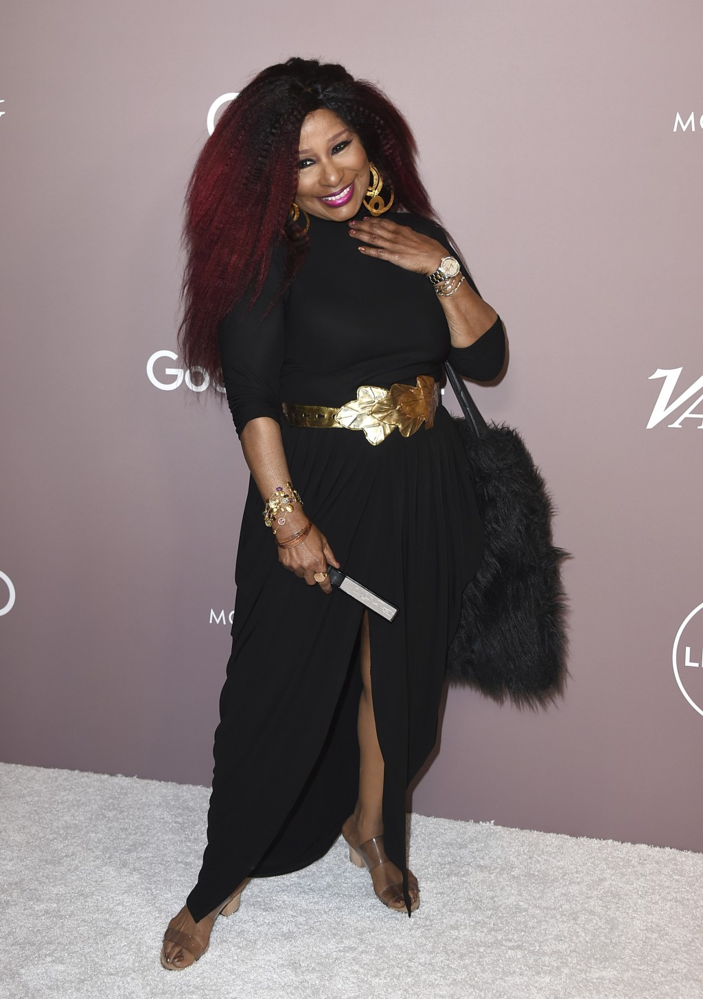 Chaka Khan arrives at Variety's Power of Women on Friday, Oct. 11, 2019, at the Beverly Wilshire hotel in Beverly Hills, Calif. (Photo by Jordan Strau