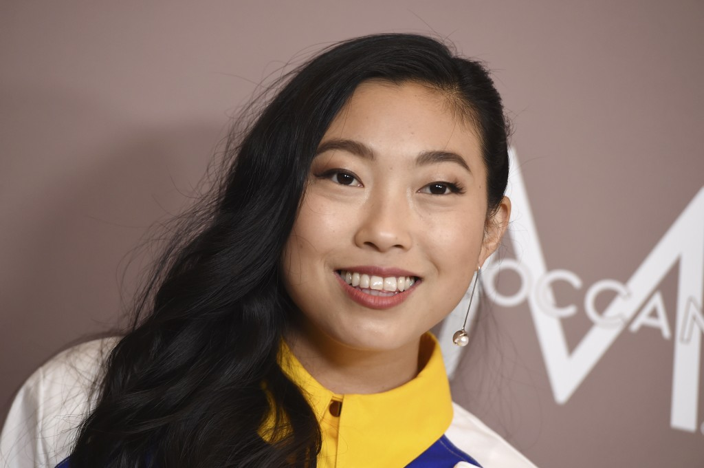 Awkwafina arrives at Variety's Power of Women on Friday, Oct. 11, 2019, at the Beverly Wilshire hotel in Beverly Hills, Calif. (Photo by Jordan Straus