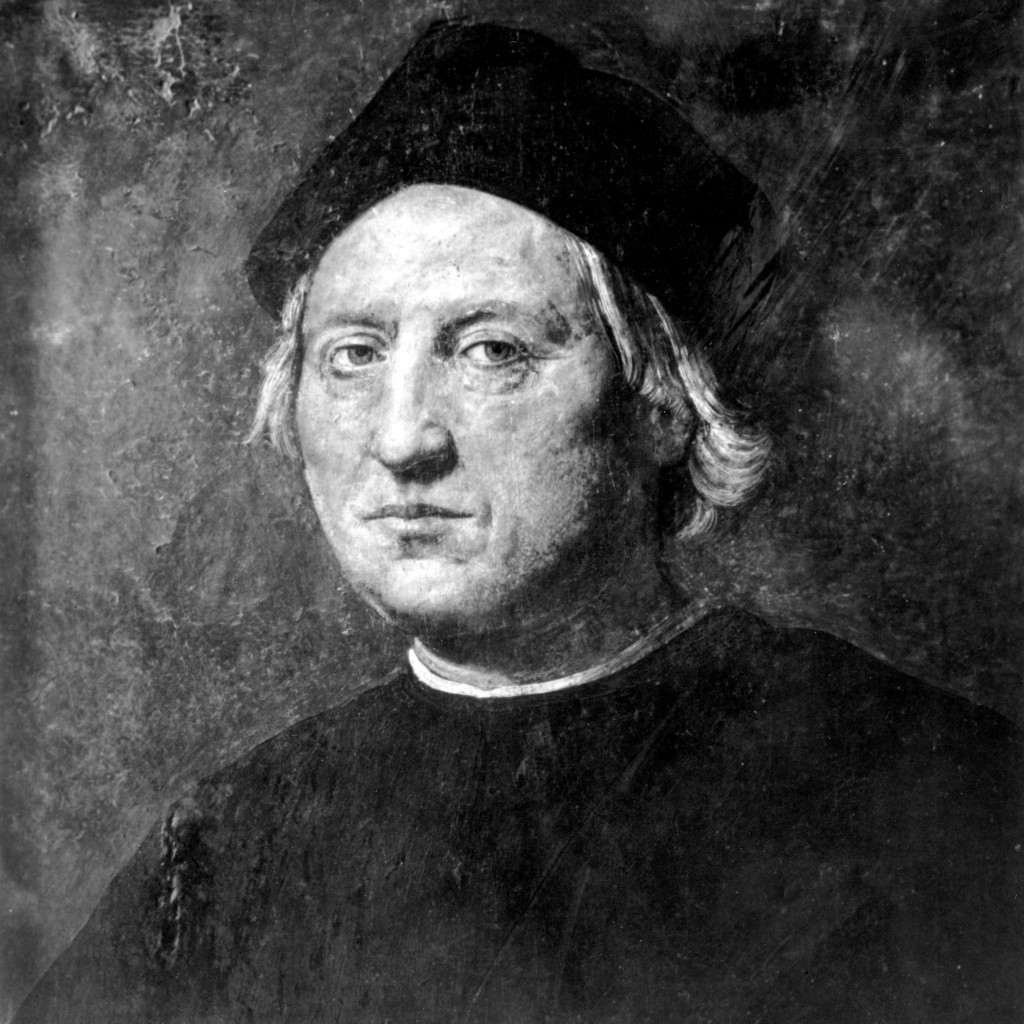 FILE - This undated portrait attributed to Rodolfo Ghirlandaia shows Italian explorer Christopher Columbus. The image and story of the 15th Century na