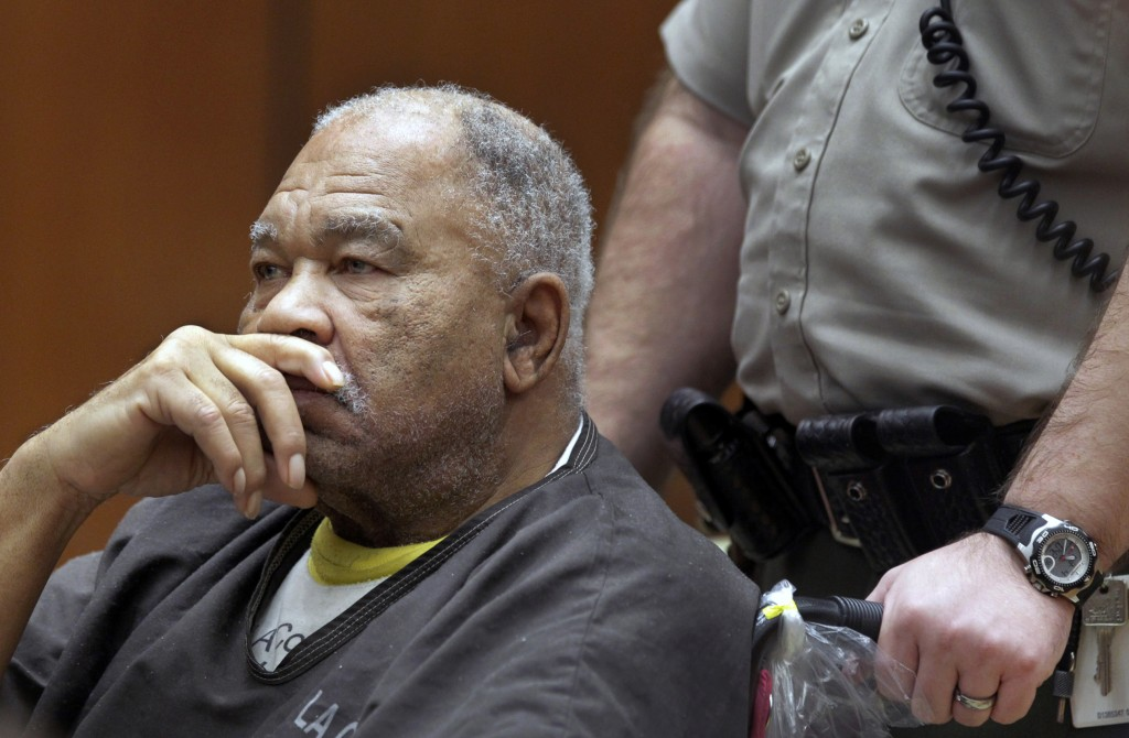 FILE - In this March 4, 2013, file photo, Samuel Little appears at Superior Court in Los Angeles. Little, pronounced by the FBI the most prolific seri...