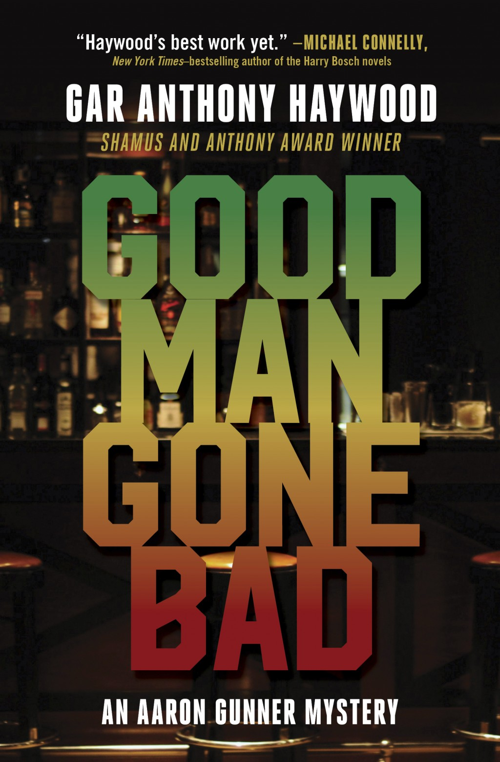 """This cover image released by Prospect Park Books shows """"Good Man Gone Bad"""" by Gar Anthony Haywood.  (Prospect Park Books via AP)"""