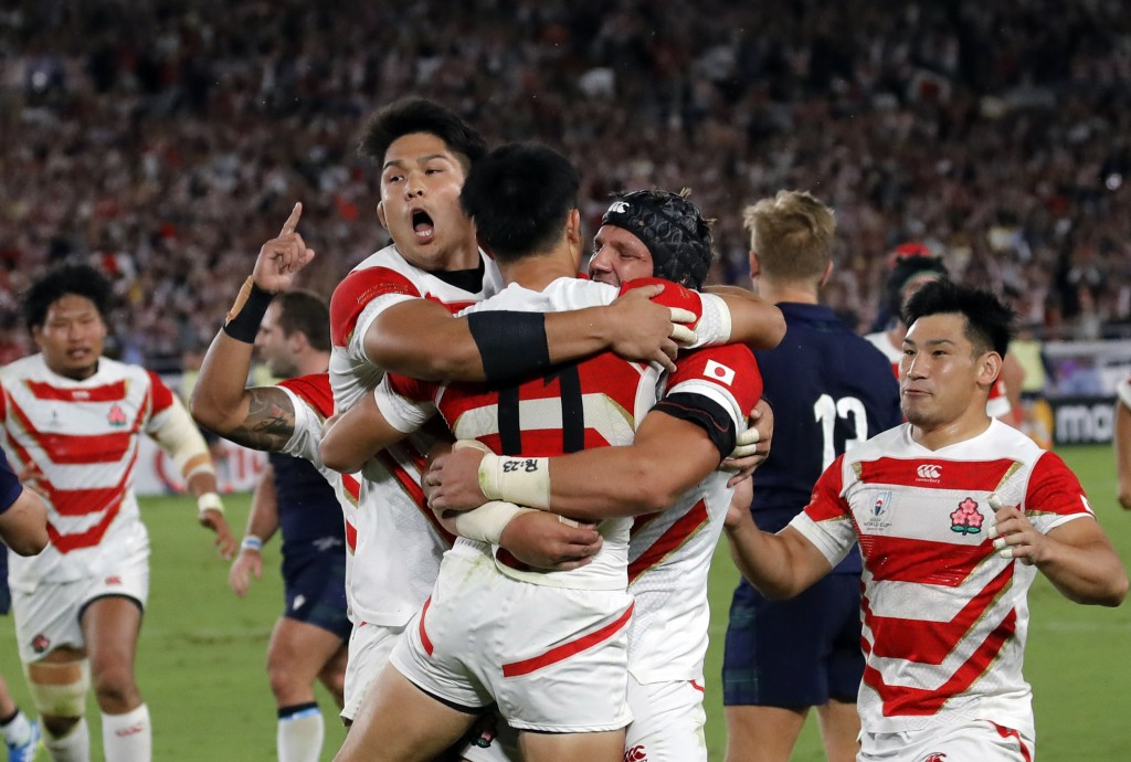 Japan set to announce squad for its 1st Rugby World Cup QF