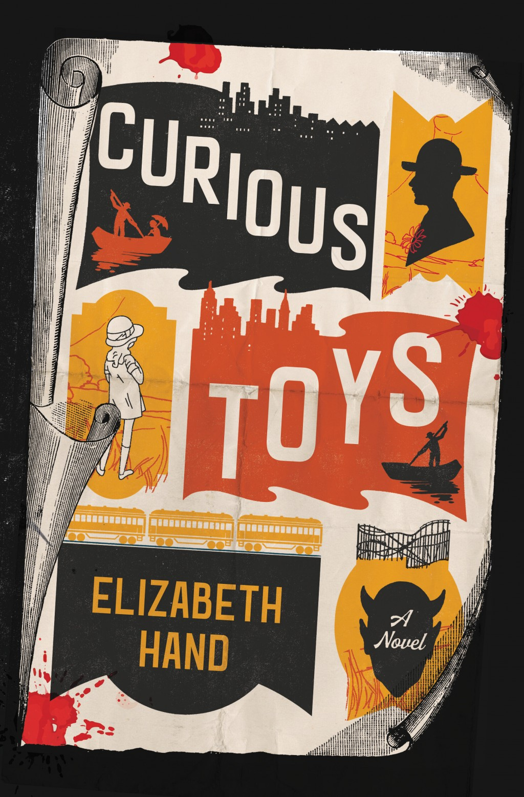 """This cover image released by Little, Brown and Co. shows """"Curious Toys,"""" a novel by Elizabeth Hand. (Little, Brown and Co. via AP)"""