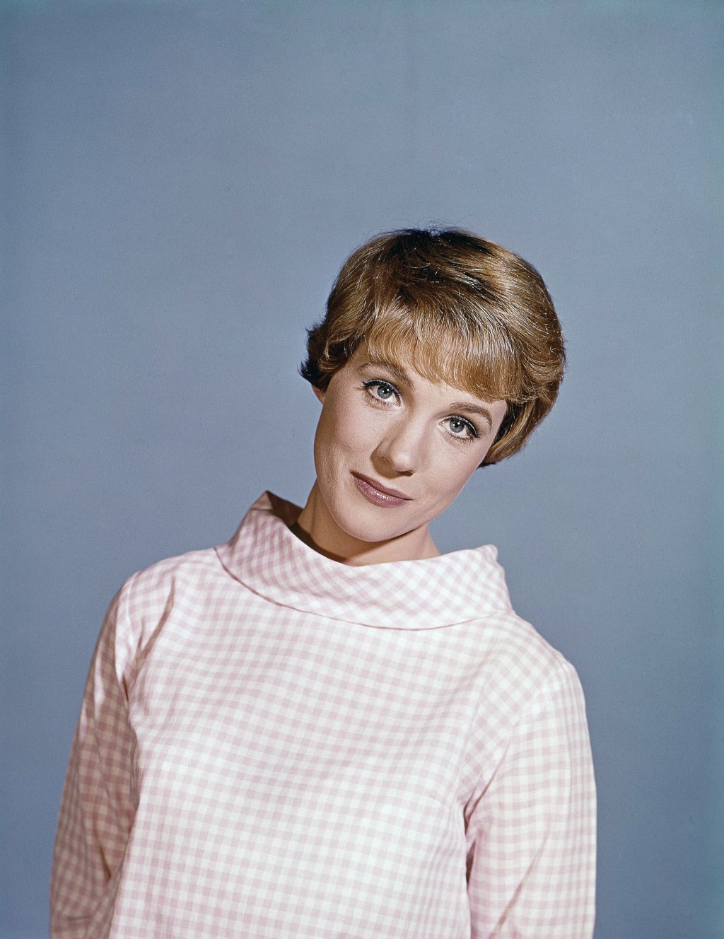 "This 1965 file photo shows actress Julie Andrews. Andrews released a memoir, ""Home Work: A Memoir of My Hollywood Years,"" which hits shelves on Oct. 1..."