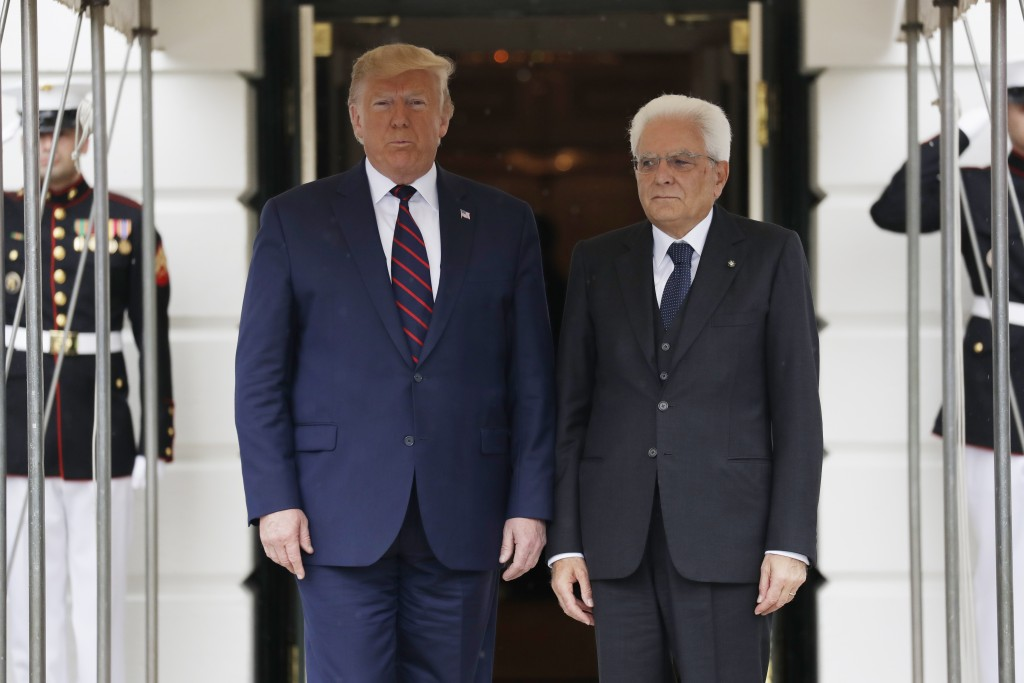 President Trump calls on Italian President Mattarella to increase North Atlantic Treaty Organisation contributions