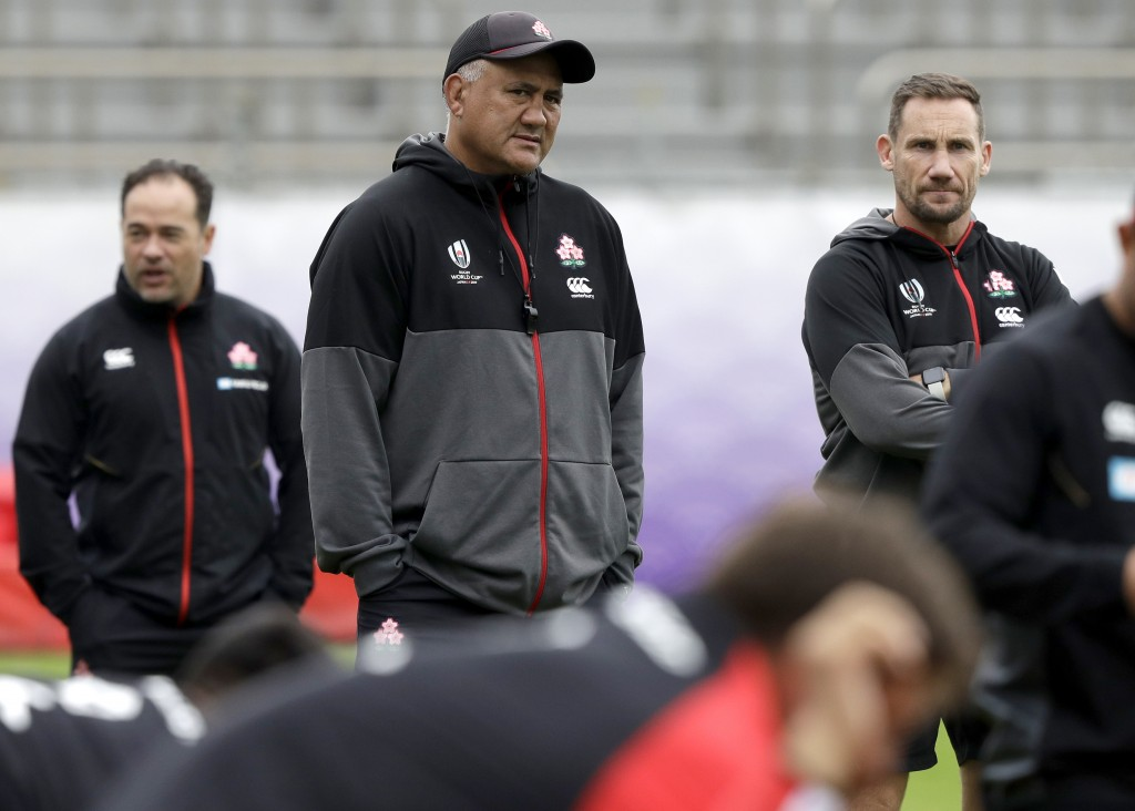 Japan 'not planning to stop' at South Africa quarter-final