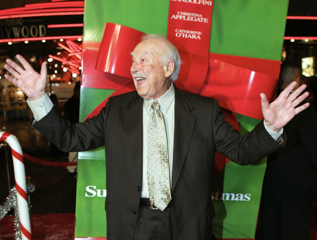 """FILE - This Oct. 14, 2004 file photo shows actor Bill Macy at the premiere of the movie """"Surviving Christmas,"""" in the Hollywood section of Los Angeles..."""
