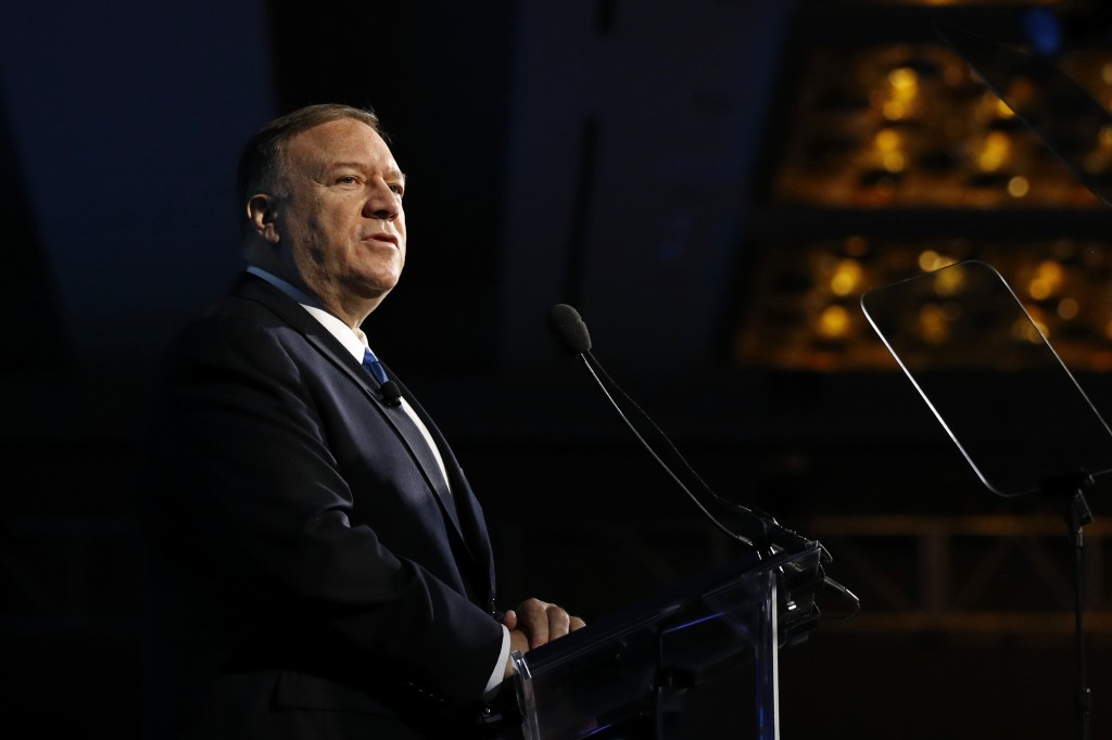 Pompeo on offense against 'truly hostile' China