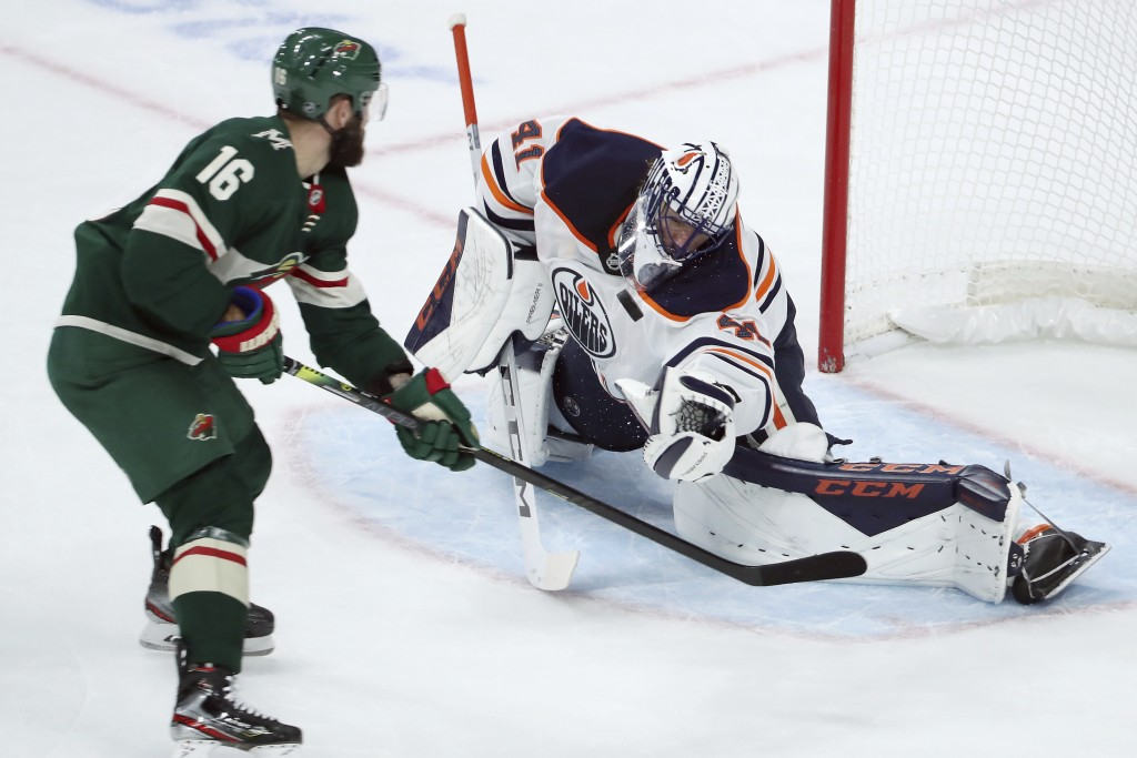 Staal Scores 2 Dubnyk Hurt In Wild S 3 0 Win Taiwan News
