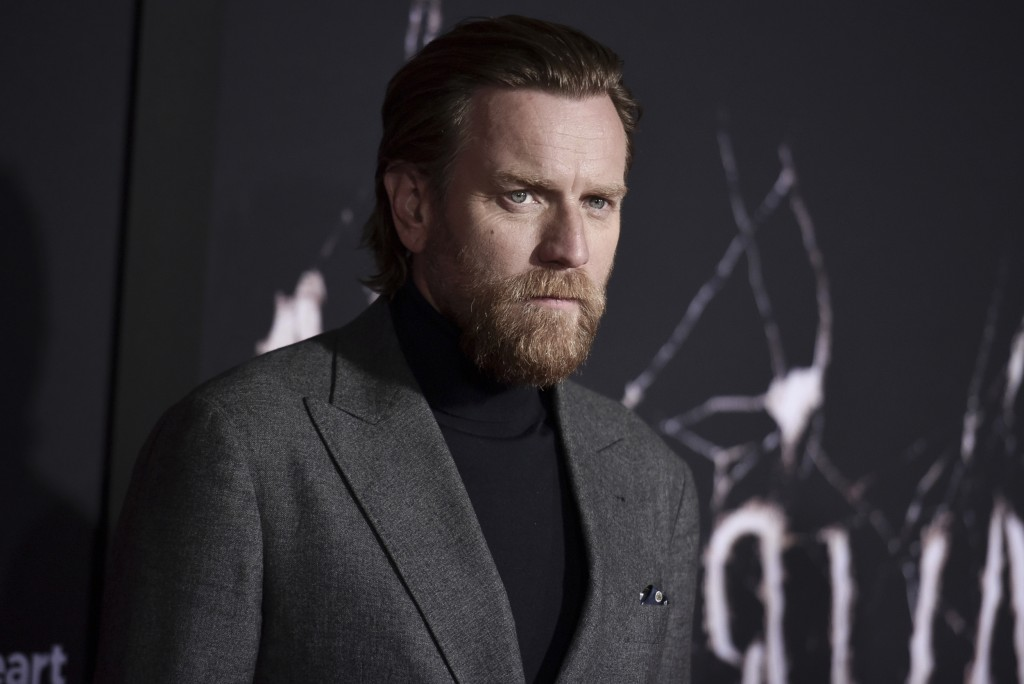 """Ewan McGregor attends the LA premiere of """"Doctor Sleep"""" at the Regency Theatre Westwood on Tuesday, Oct. 29, 2019, in Los Angeles. (Photo by Richard S..."""