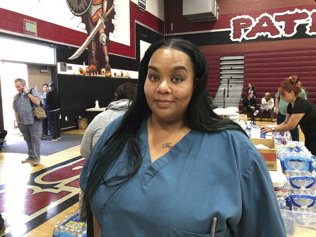 Qiana McCracken, assistant director of nursing at Riverside Heights Healthcare Center, said they were given 15 minutes warning to evacuate the facilit...