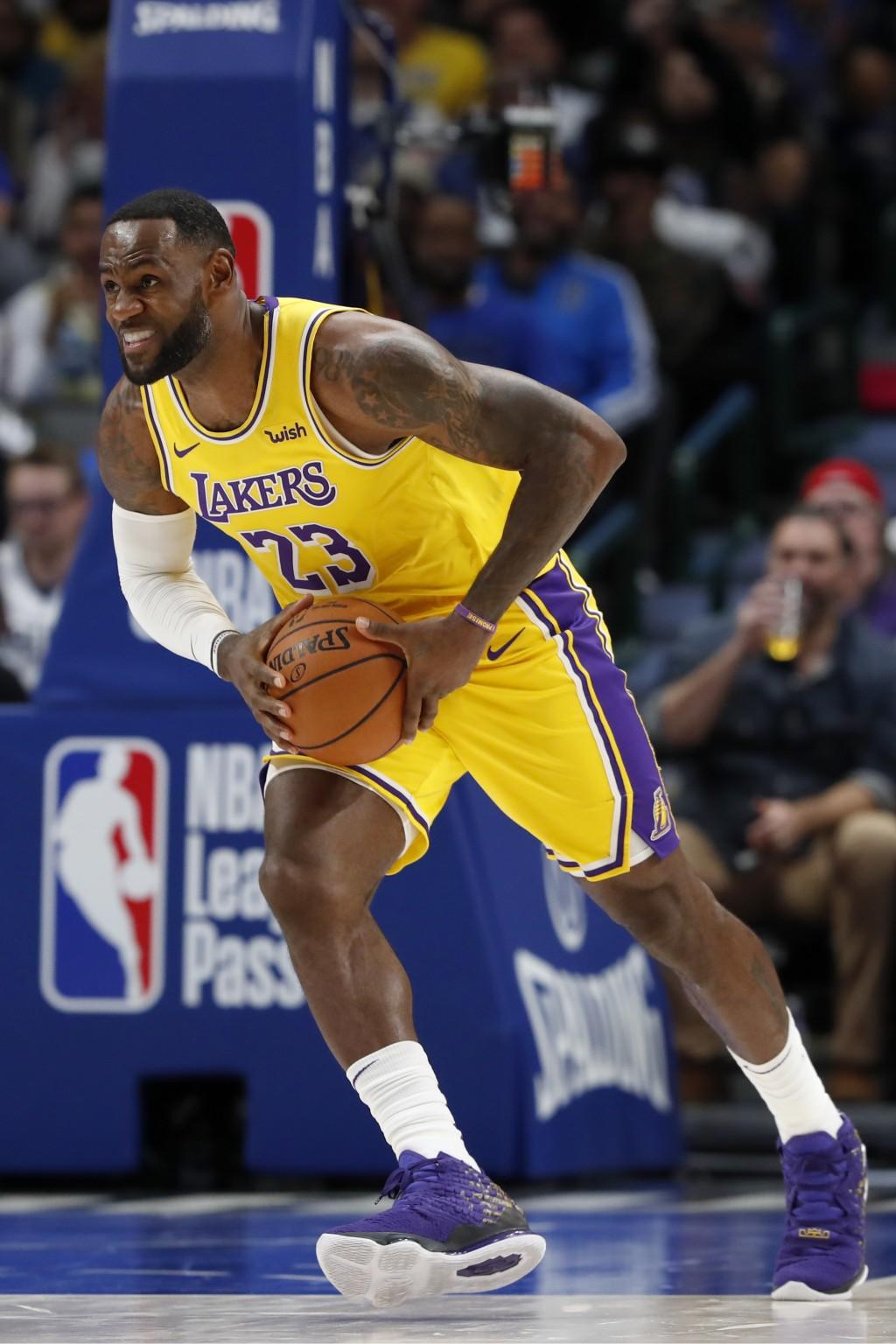 Davis James Carry Lakers Past Mavs 119 110 I Taiwan News