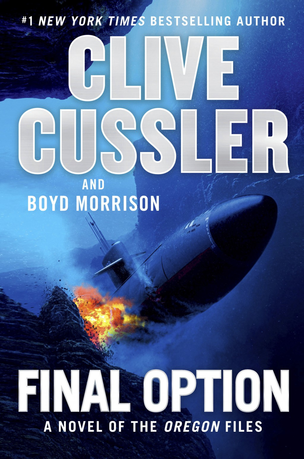 "This cover image released by Putnam shows ""Final Option"" by Clive Cussler and Boyd Morrison. (Putnam via AP)"