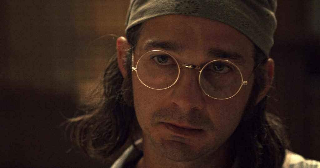 "This image released by Amazon Studious shows Shia LaBeouf in a scene from ""Honey Boy."" (Amazon Studious via AP)"