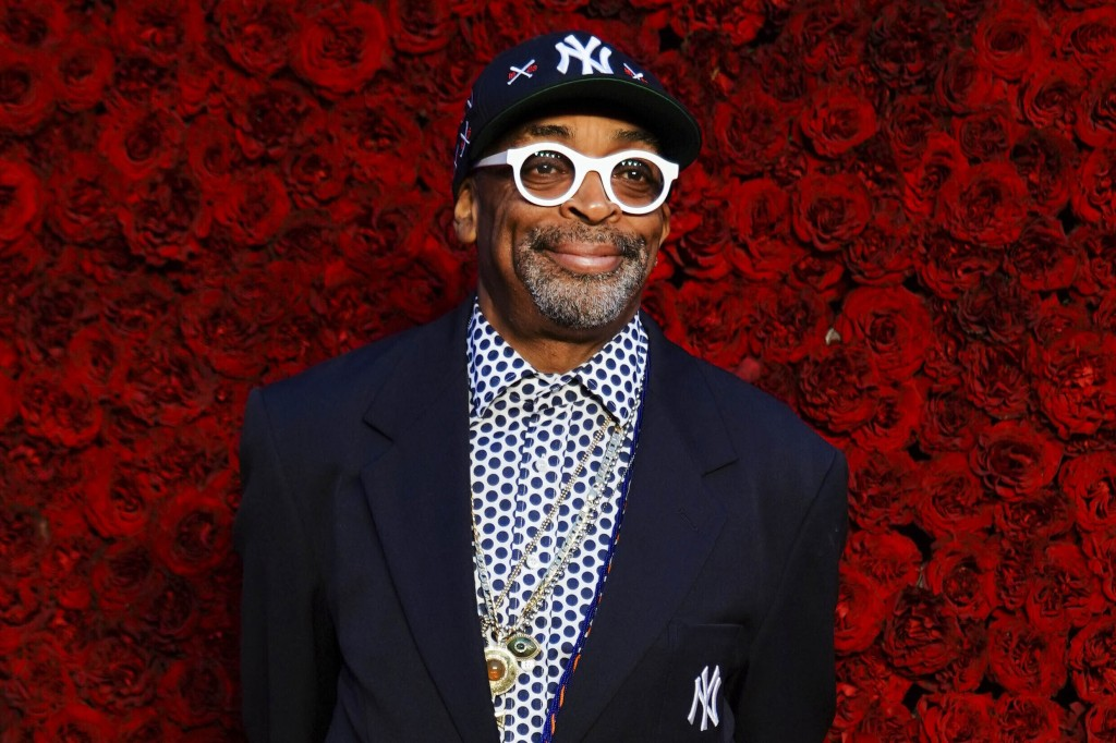 FILE - This Oct. 5, 2019 file photo shows Spike Lee at the grand opening of Tyler Perry Studios in Atlanta. Lee will receive Film at Lincoln Center's ...
