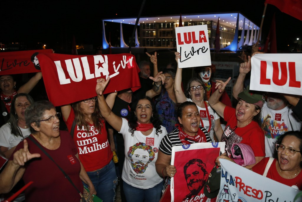 Former Brazil president Lula freed from jail