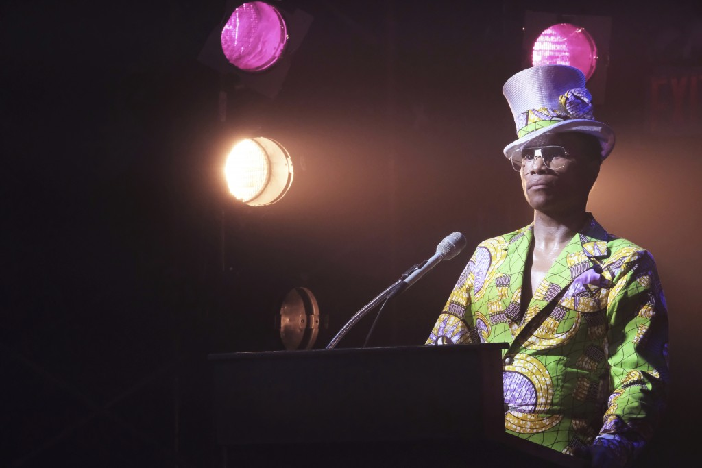 "This image released by FX shows Billy Porter in a scene from ""Pose."" A new study by the advocacy group GLAAD says that TV is building on its record of..."