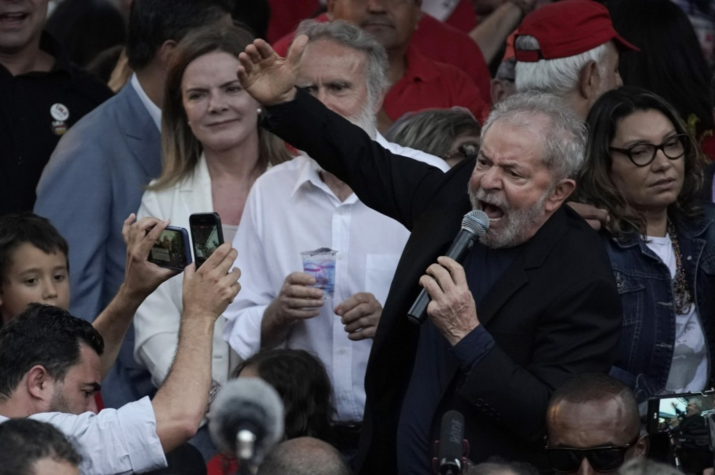 Brazil Ex-President Lula Vows Left Will Defeat Bolsonaro in 2022