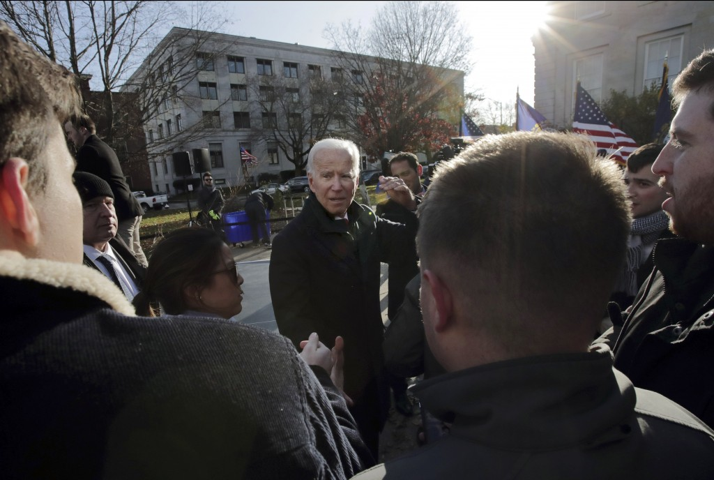 Democratic presidential candidate former Vice Pres...