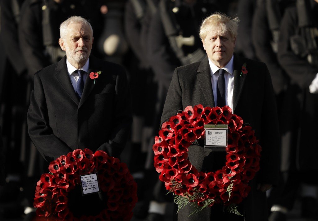 Armed Forces lead nation in Cenotaph service on Remembrance Sunday