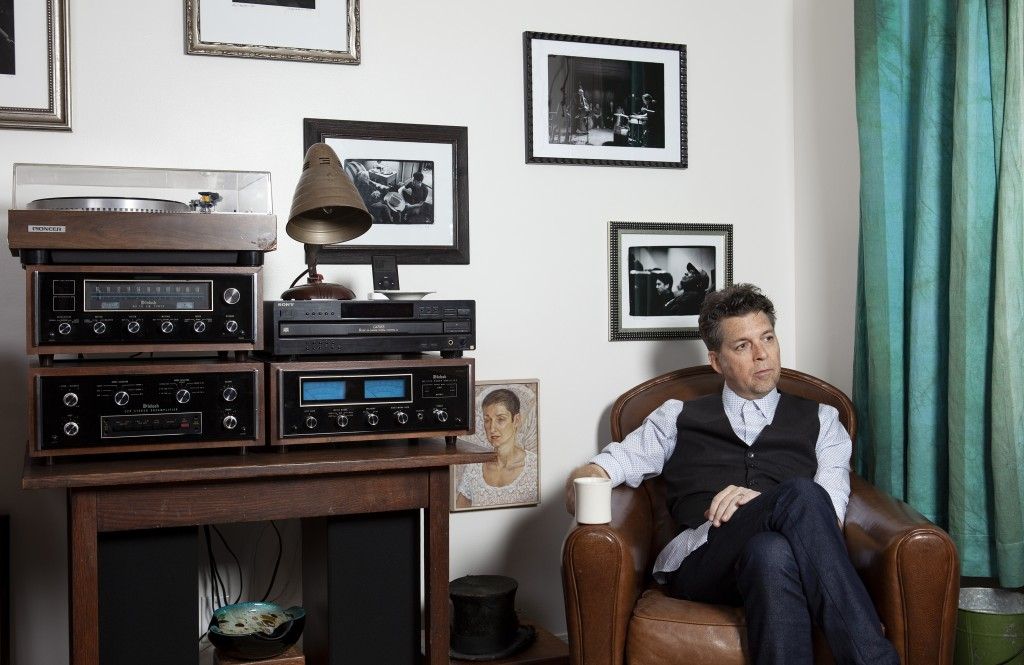 """This Nov. 8, 2019 photo shows musician Joe Henry posing for a portrait at his home in Pasadena, Calif. to promote his new album """"The Gospel According ..."""
