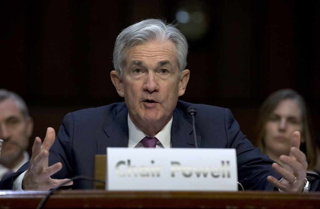 Federal Reserve Board Chair Jerome Powell testifies on the economic outlook, on Capitol Hill in Washington, Wednesday, Nov. 13, 2019. (AP Photo/Jose L...