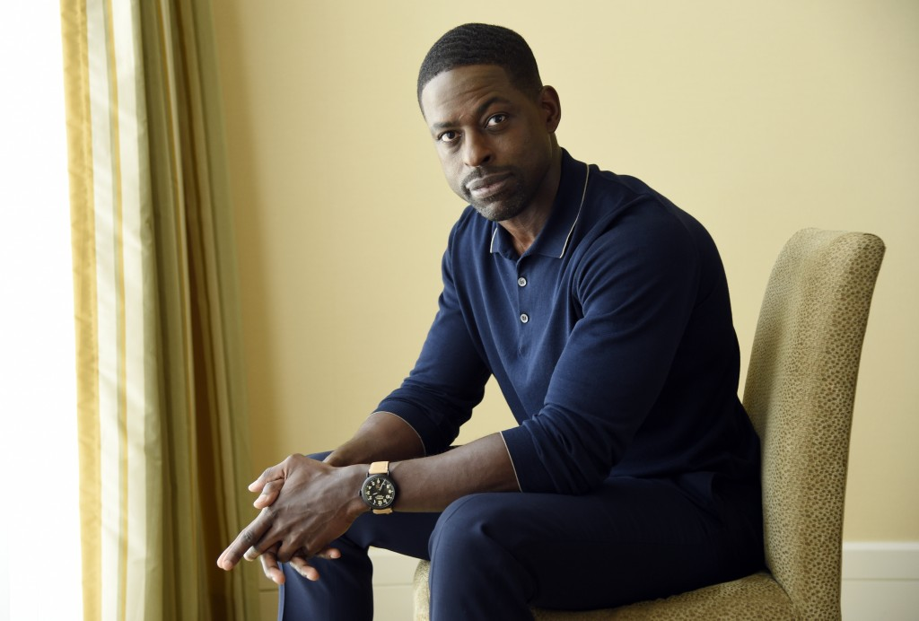 """FILE - This Aug. 3, 2017 file photo shows actor Sterling K. Brown, a cast member in the NBC series """"This Is Us,"""" in Beverly Hills, Calif. Brown stars ..."""