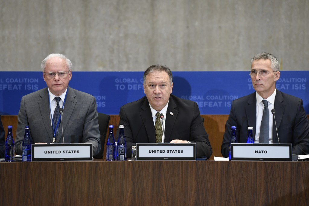 Pompeo Presses European Countries to Take Detained Islamic State Fighters