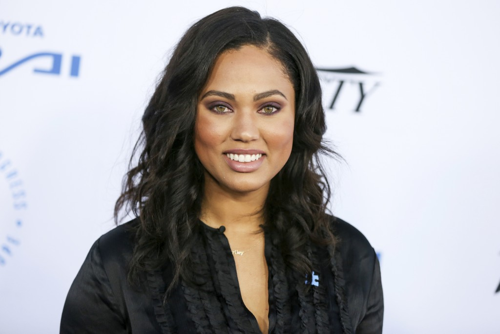 FILE - In this Oct. 8, 2015 file photo, Ayesha Curry arrives at the Autism Speaks to LA Celebrity Chef Gala in Santa Monica, Calif. Curry is currently...