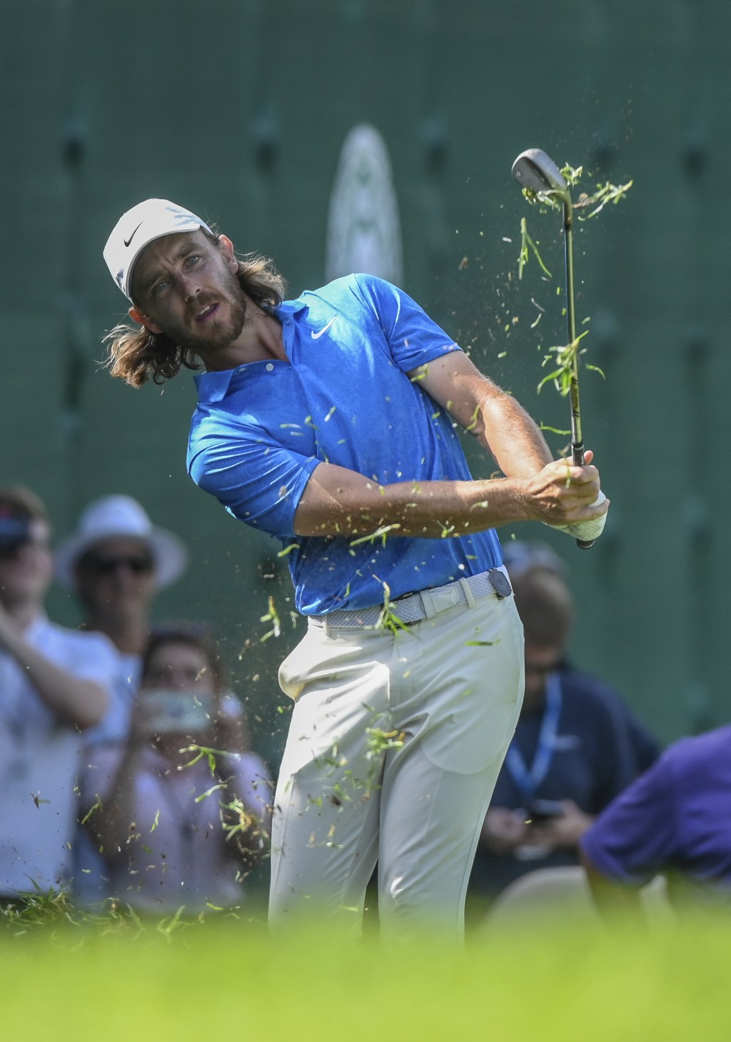 England's Tommy Fleetwood plays a shot on his way to win the the 39th edition of the Nedbank Golf Challenge, at Sun City, South Africa, Sunday, Nov. 1...