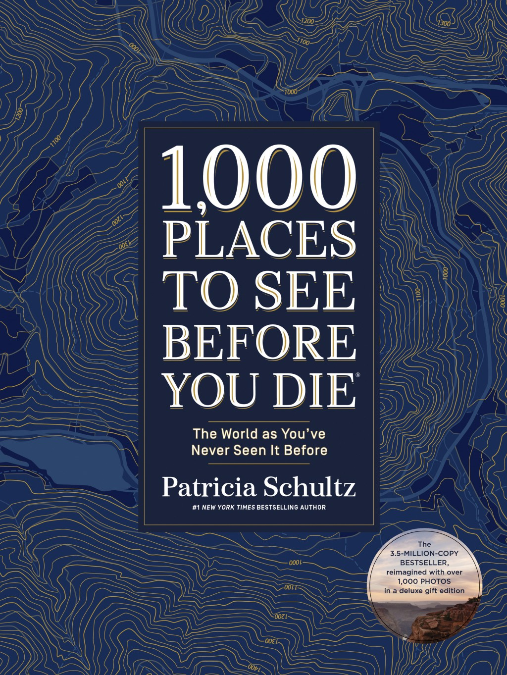"This cover image released by Artisan Books shows ""1,000 Place to See Before You Die: The World as You've Never Seen it Before,"" by Patricia Schultz. (..."