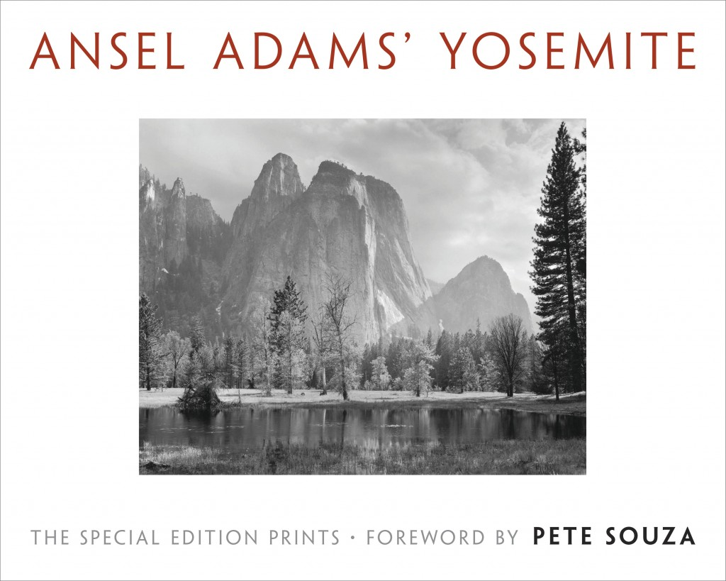 "This cover image released by Little Brown and Company shows ""Ansel Adams' Yosemite,"" by Ansel Adams. The book includes images from Yosemite National P..."