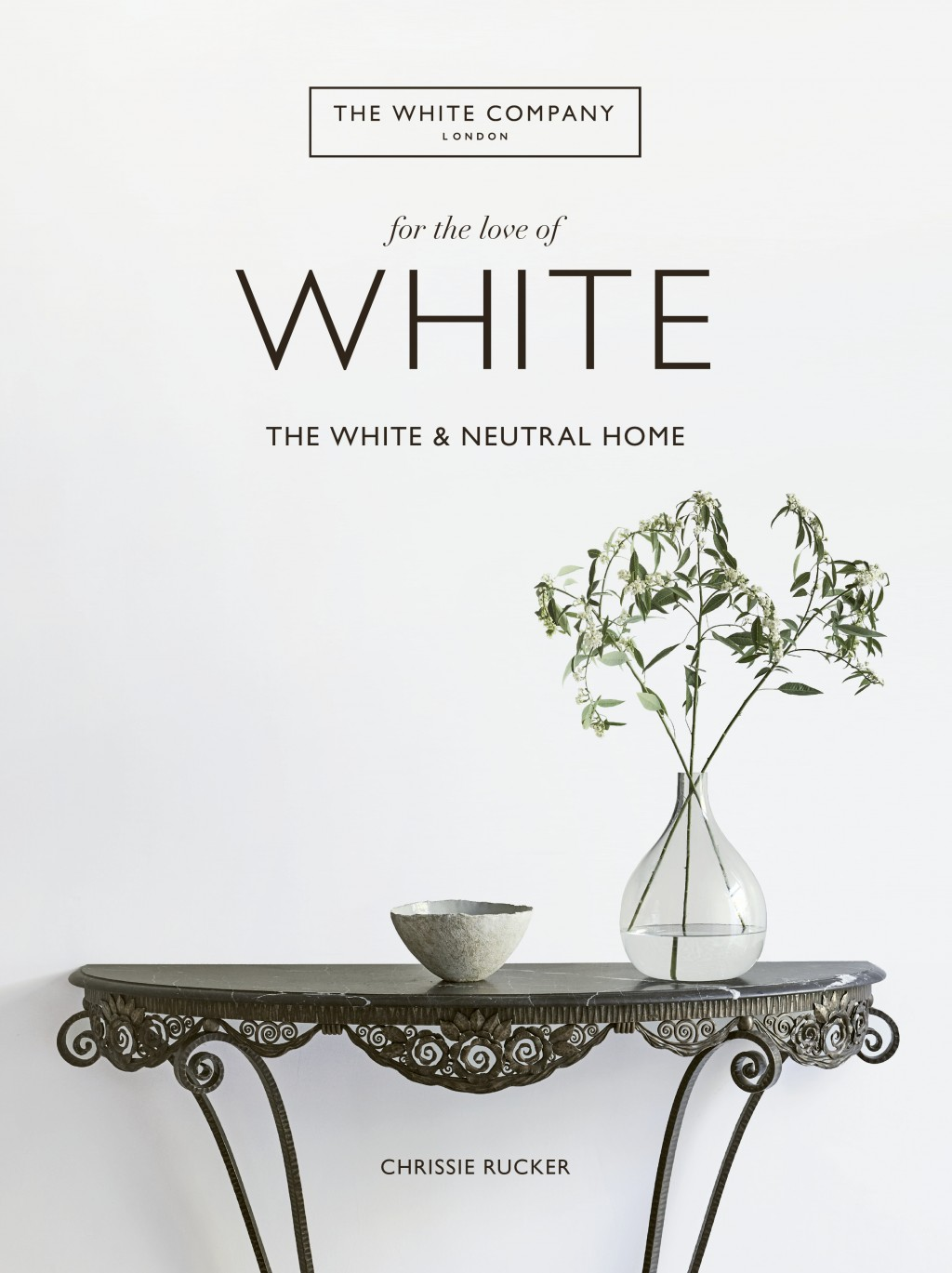 "This cover image released by Harper Design shows ""For the Love of White: The White and Neutral Home,"" by Chrissie Rucker. (Harper Design via AP)"