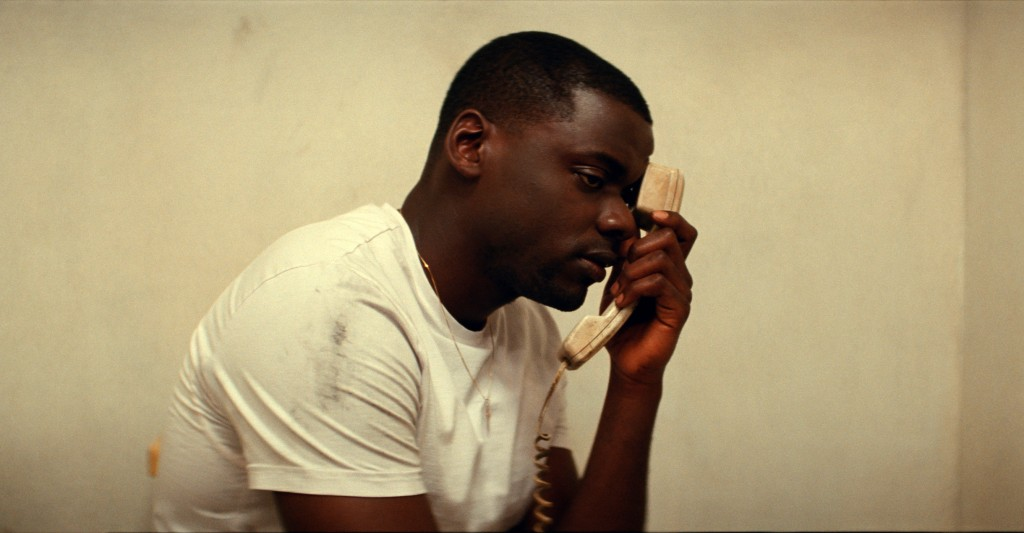 """This image released by Universal Pictures shows Daniel Kaluuya as Slim in a scene from the film """"Queen & Slim,"""" directed by Melina Matsoukas. (Univers..."""