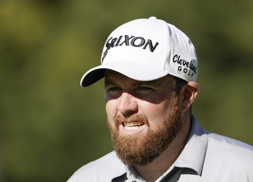 FILE - In this file photo dated Wednesday, Oct. 23, 2019, Shane Lowry of Ireland walks onto the 9th hole during the pro-am event of the Zozo Champions...