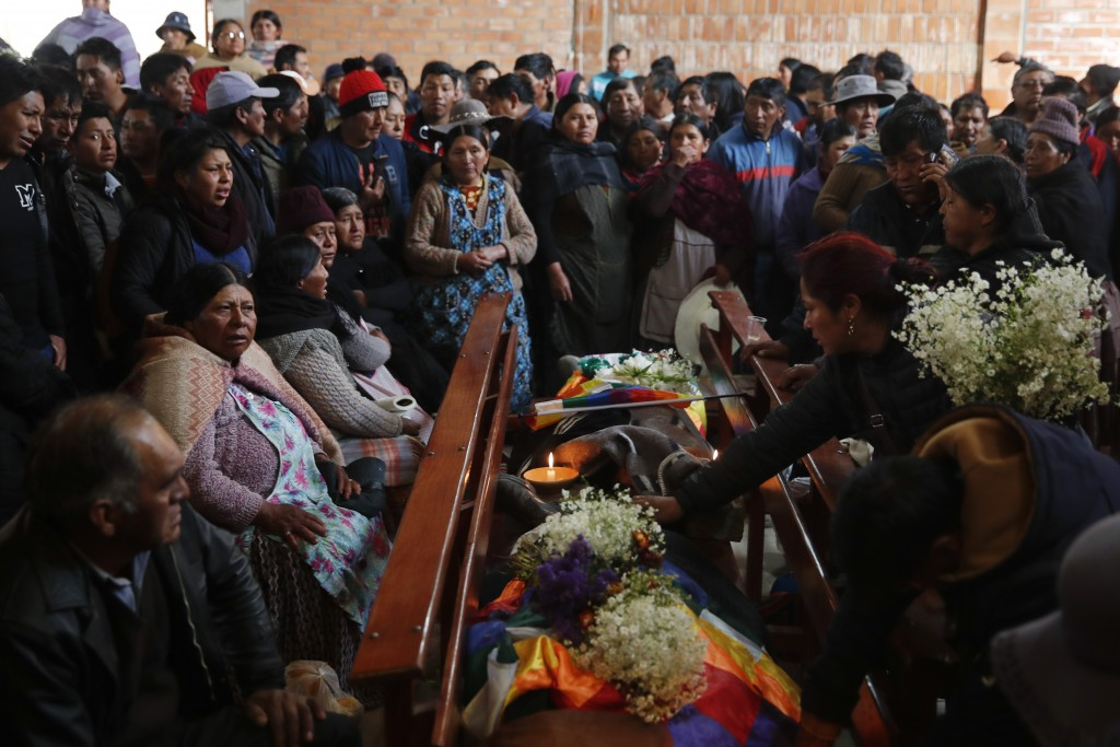 Bolivian lawmakers seek election breakthrough as death toll hits 30