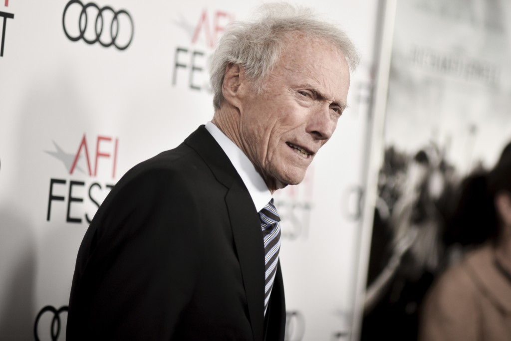 "Clint Eastwood attends 2019 AFI Fest - ""Richard Jewell"" at the TCL Chinese Theatre on Wednesday, Nov. 20, 2019, in Los Angeles. (Photo by Richard Shot..."