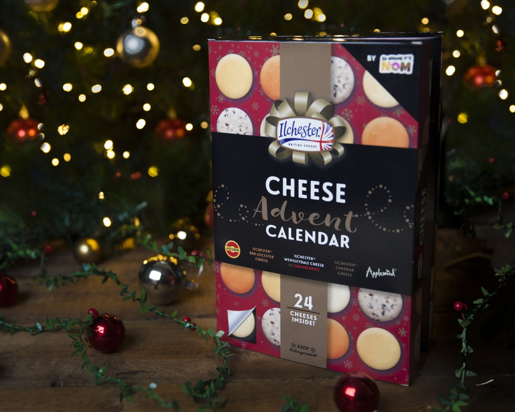 This photo released by So Wrong It's Nom shows the So Wrong It's Nom Cheese Advent Calendar. From edibles to beauty, Advent calendars counting down to...
