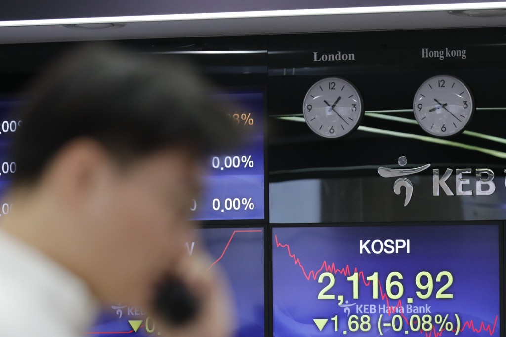 World shares post modest losses in 'Black Friday' retreat