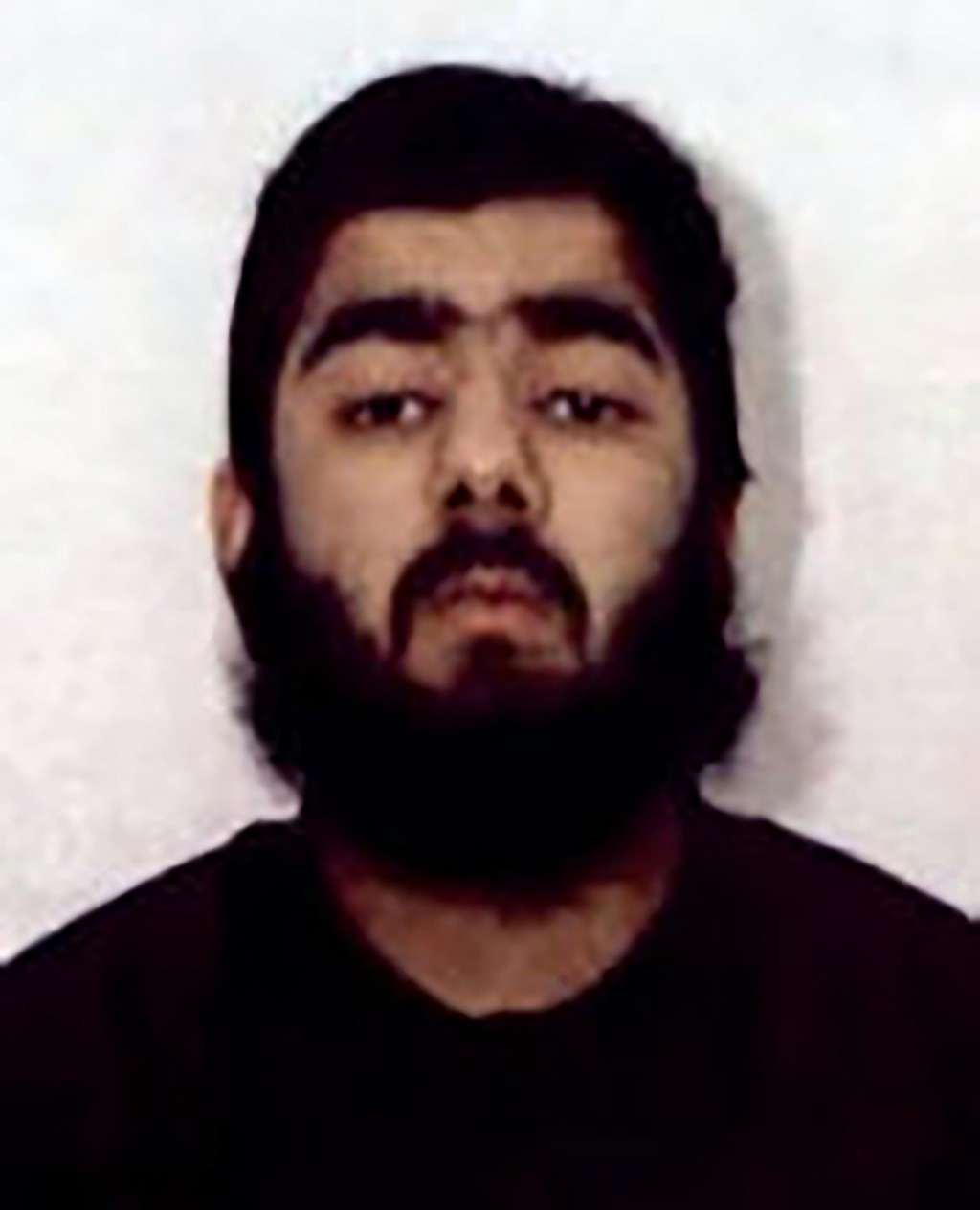 This undated photo provided by West Midlands Police shows Usman Khan. UK counterterrorism police are searching for clues into an attack that left two ...